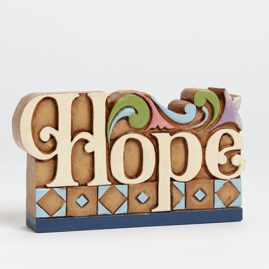 """Hope"" Word Plaque"