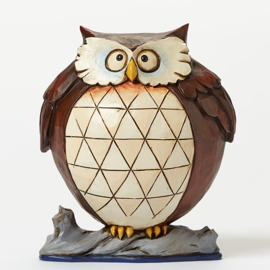 Wise and Well-Rounded - Pint-sized Lazy Owl