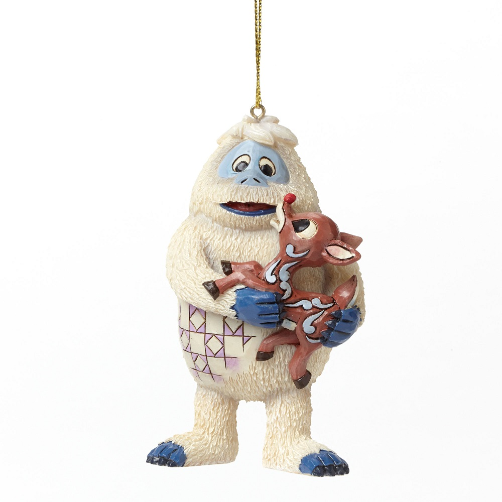 Bumble Holding Rudolph Ornament