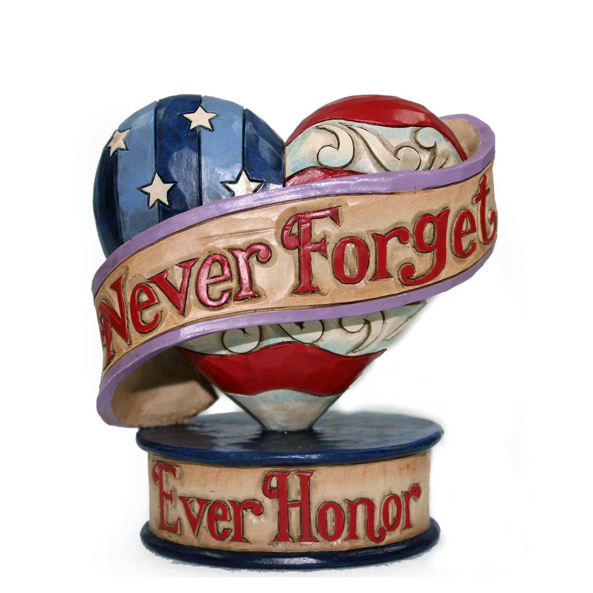 Mini Heart Flag Rememberance
