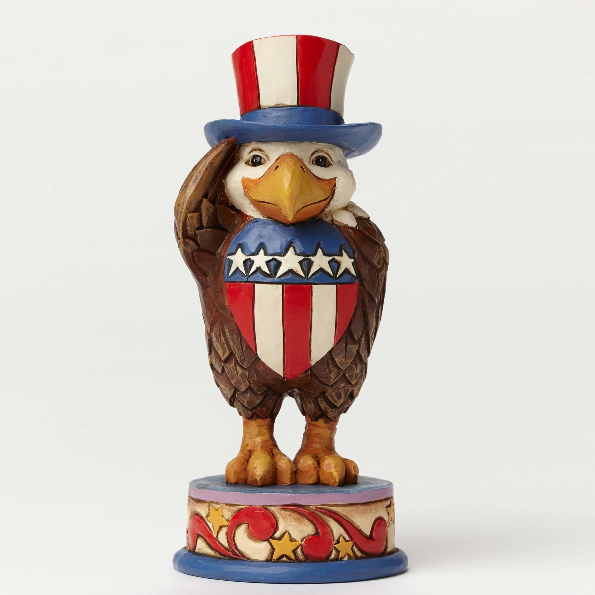 Patriotic Eagle Pint Size - Proud To Be American