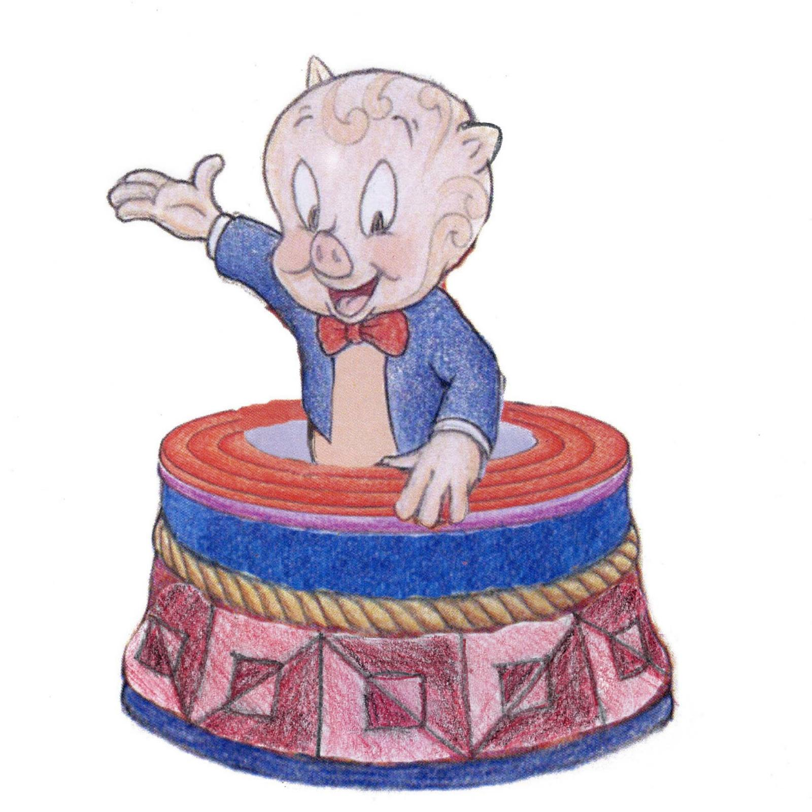 Porky Pigs Treasure Box