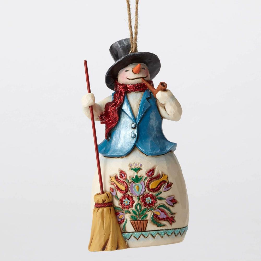 Jim Shore Heartwood Creek 4053702 Wonderland Snowman With