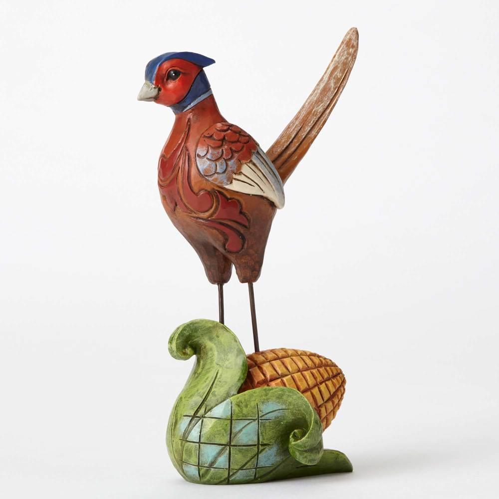 Color Me Thankful - Pint Sized Pheasant with Corn