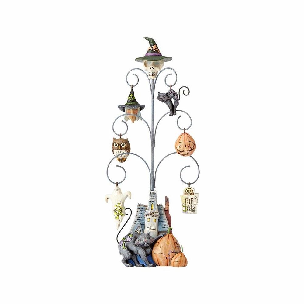 Shrieking Tree - Halloween Tree With 6 Mini Ornaments