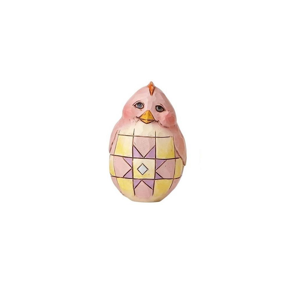 Red Chick Egg - Mini Egg Shaped Chick