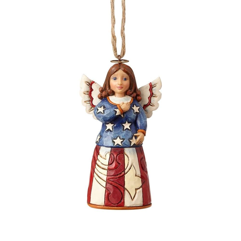 Patriotic Angel Ornament