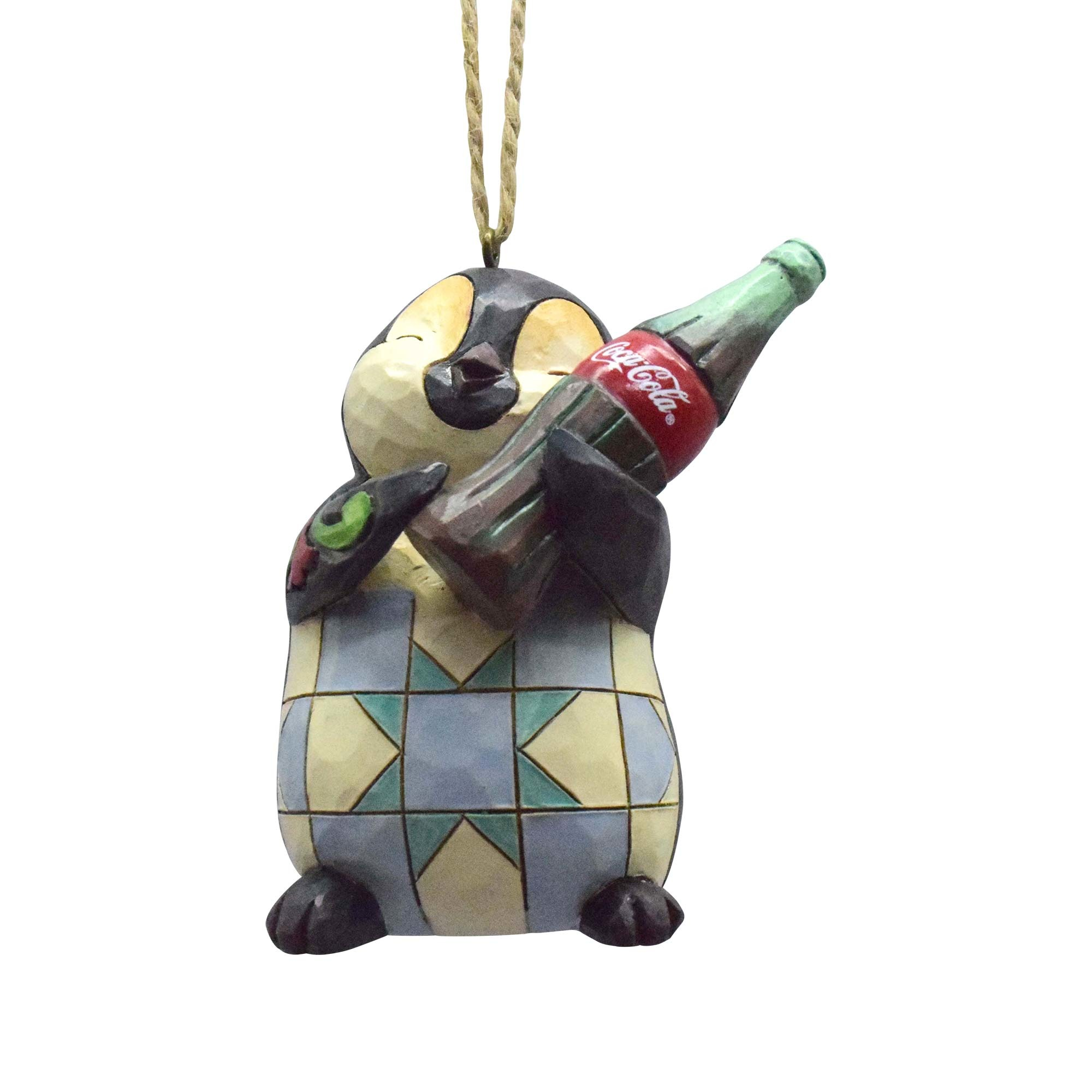 Penguin With Coke Bottle