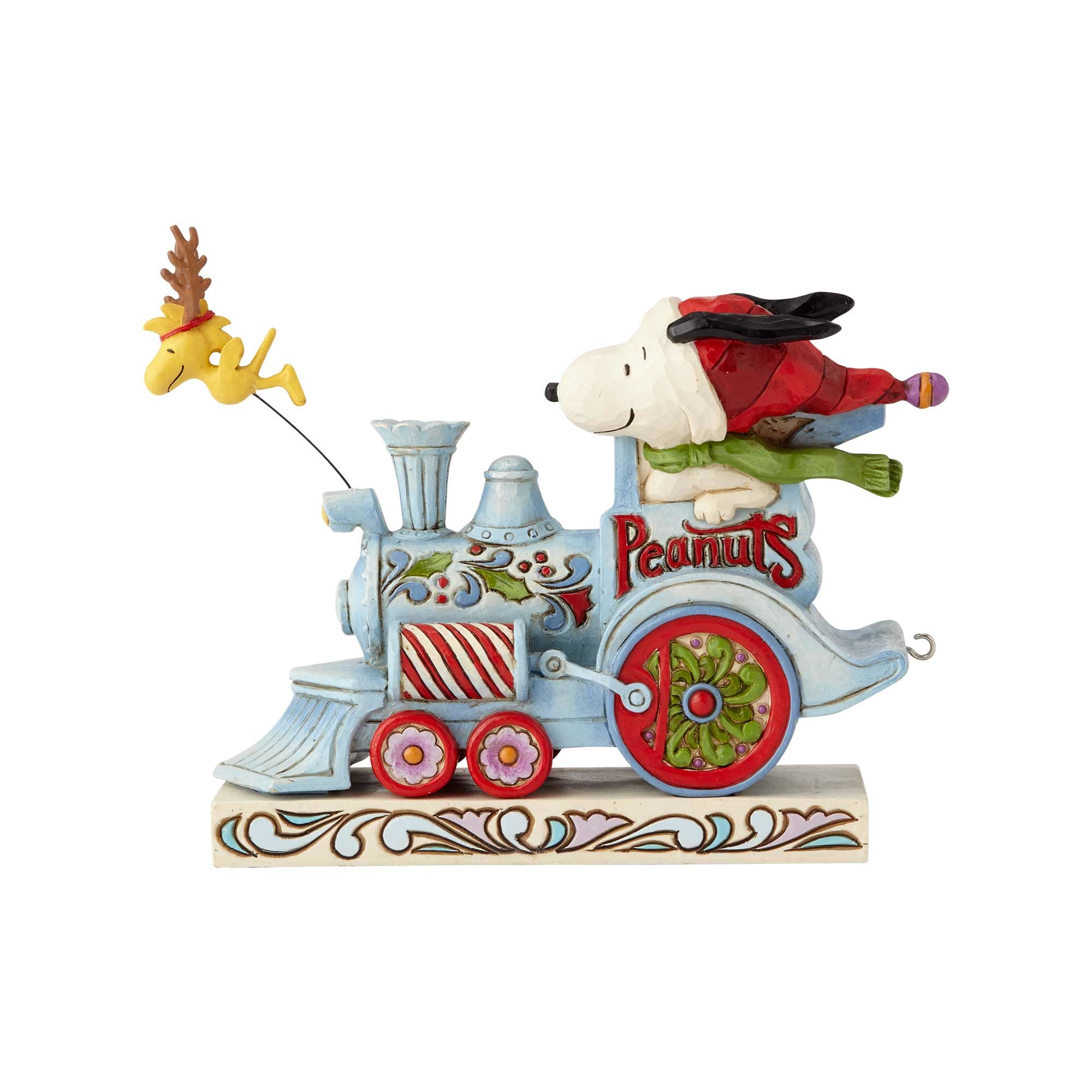 Snoopy Christmas Tree Topper: JIM SHORE HEARTWOOD CREEK 6000987 Snoopy And Woodstock