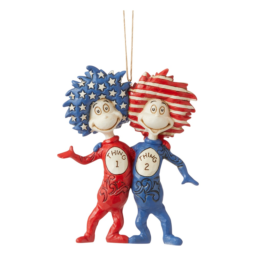 Thing 1 & Thing 2 Ornament