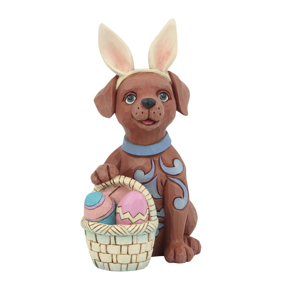 Mini Dog With Bunny Ears