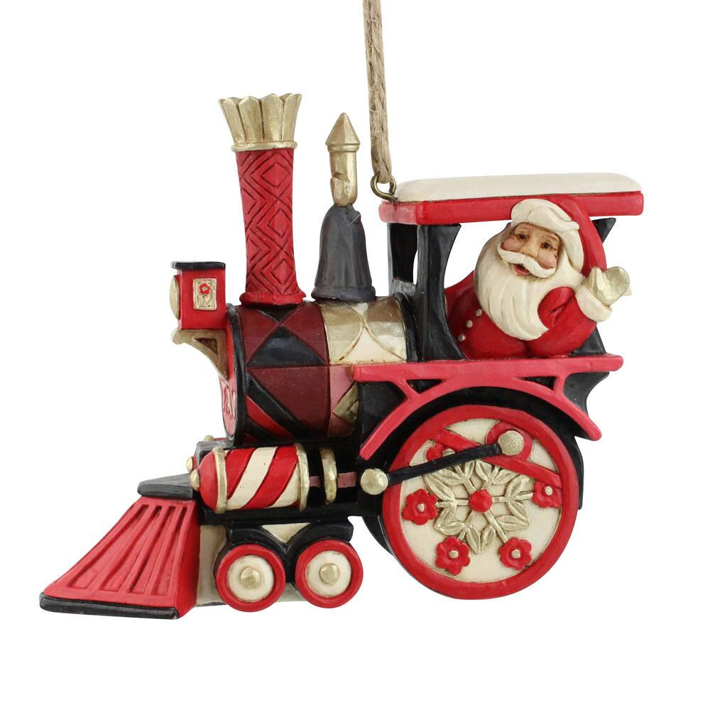 FAO Santa in Train Ornament