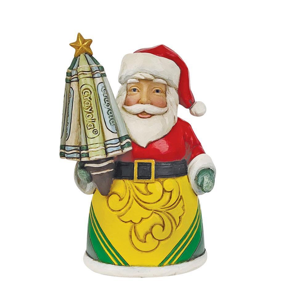 Crayola Santa Mini Figurine