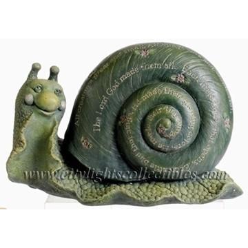 Snail Garden Figurine