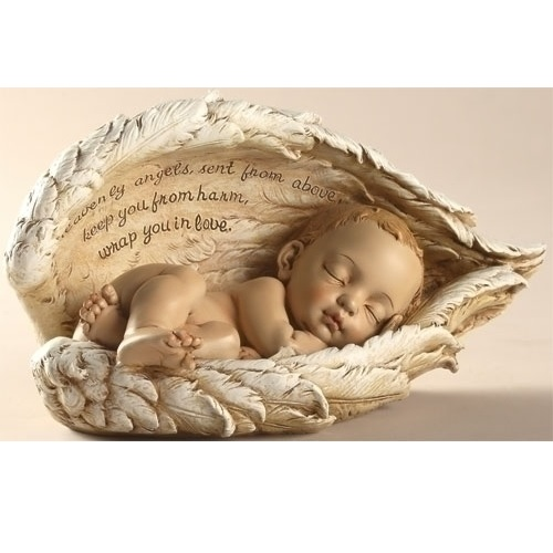 Sleeping Baby Figurine