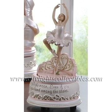 Ballerina - Gift Boxed Animated Musical Figurine