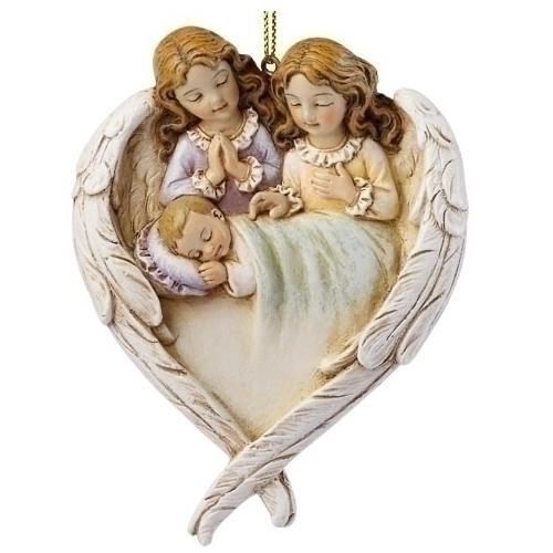 Hush-A-Bye Guardian Angels Ornament