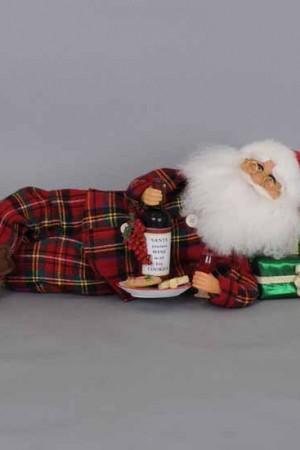 Lying Wine Midnight Snack Santa