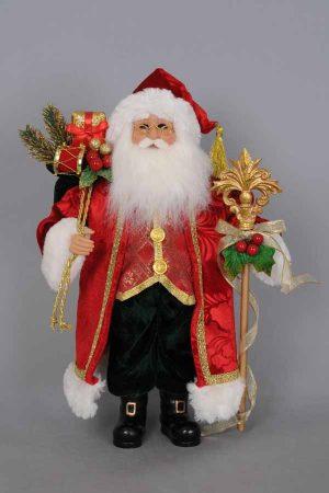 Traditional Santa Red