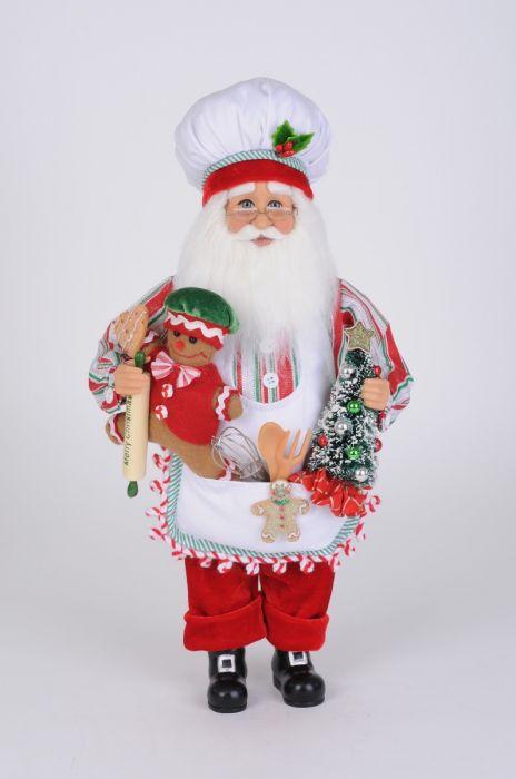 Gingerbread Fun Santa