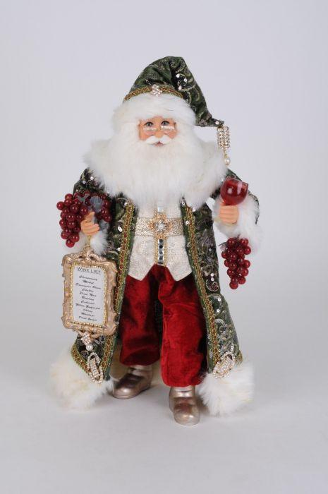 Sparkling Green Wine Santa