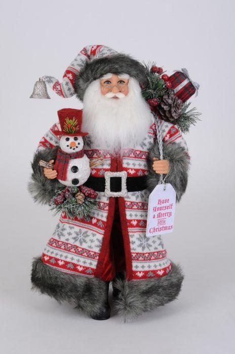 Snowflake Fun Santa