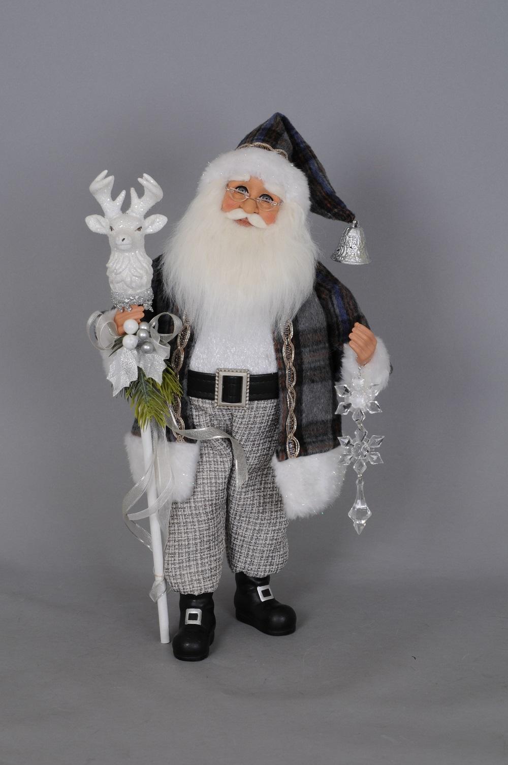 KAREN DIDION ORIGINALS CC16153 Deer Staff Santa