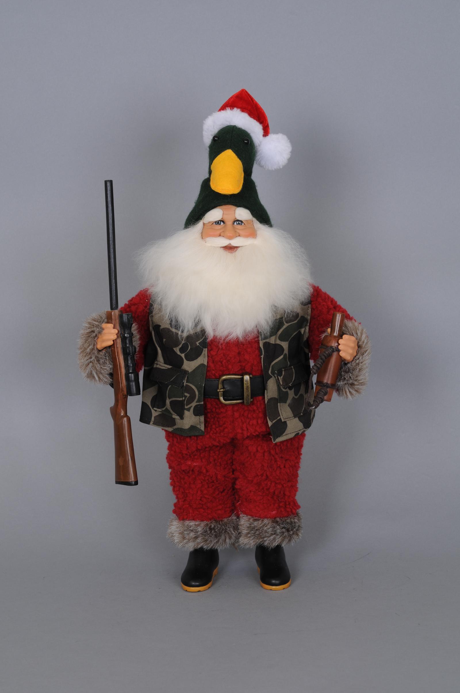Duck Hunter Santa