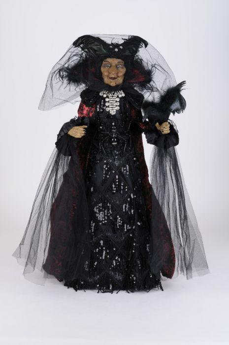 Small Black Widow Witch