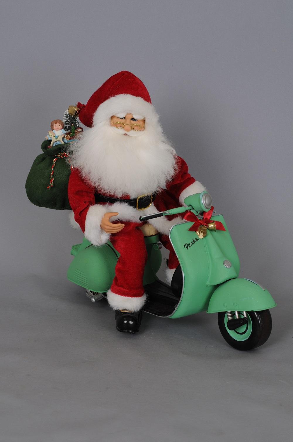 Cruising Claus Santa