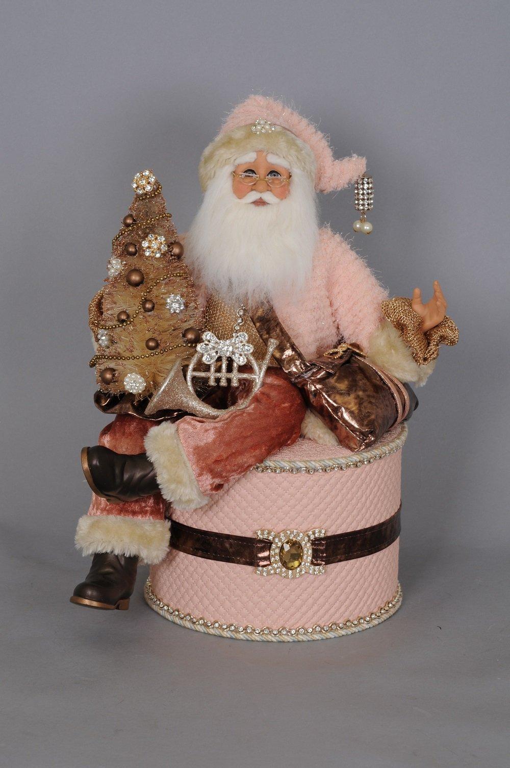 Coral Santa On Box