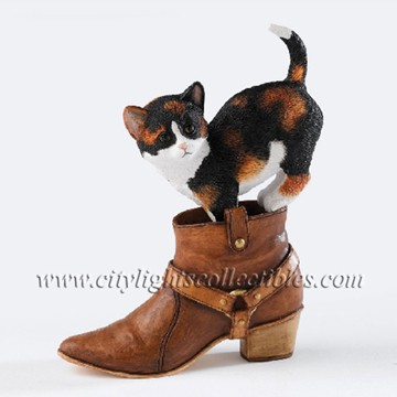 Chloe - Kitten With Boot