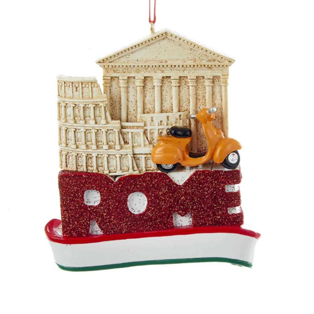 Rome Scene Ornament