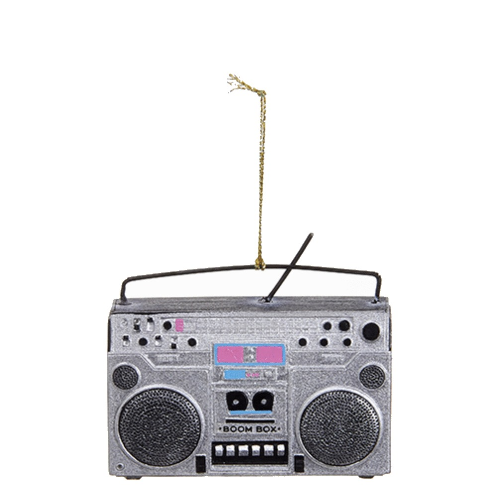 Boom Box Ornament
