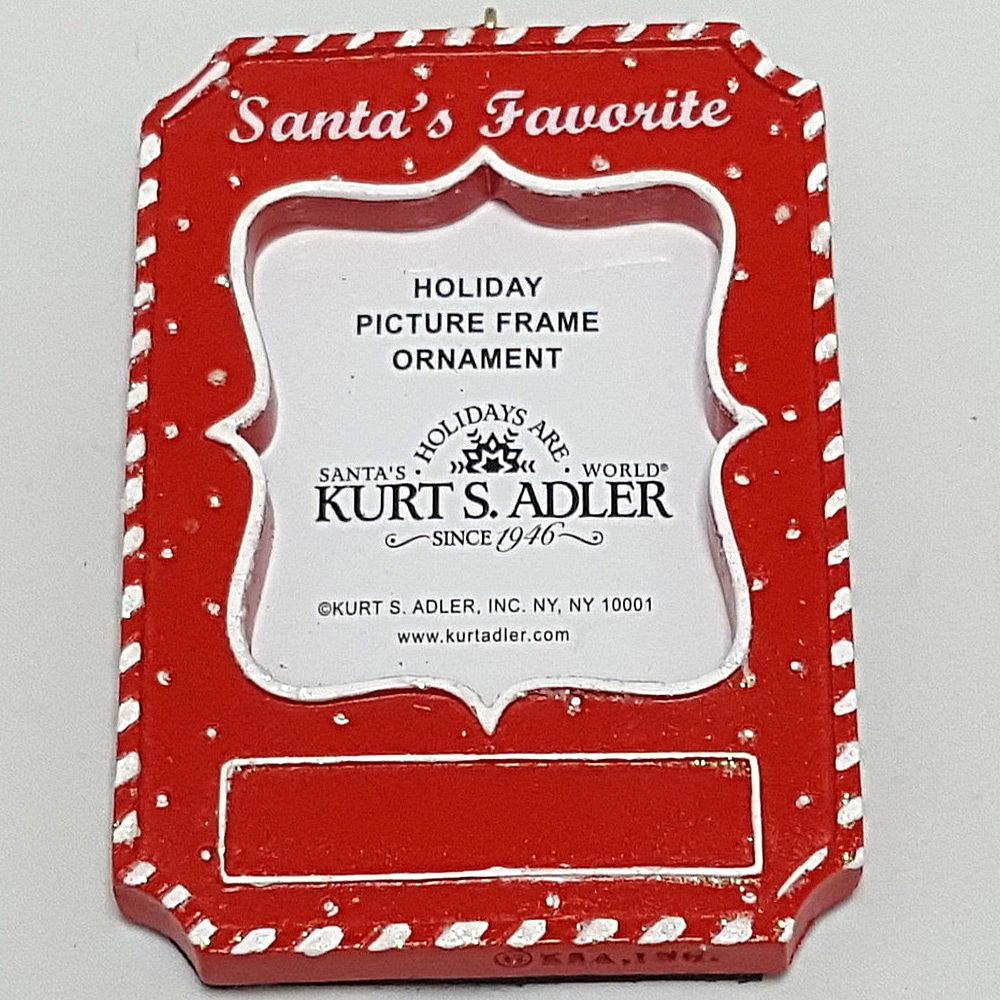 Santas Favorite Frame Ornament