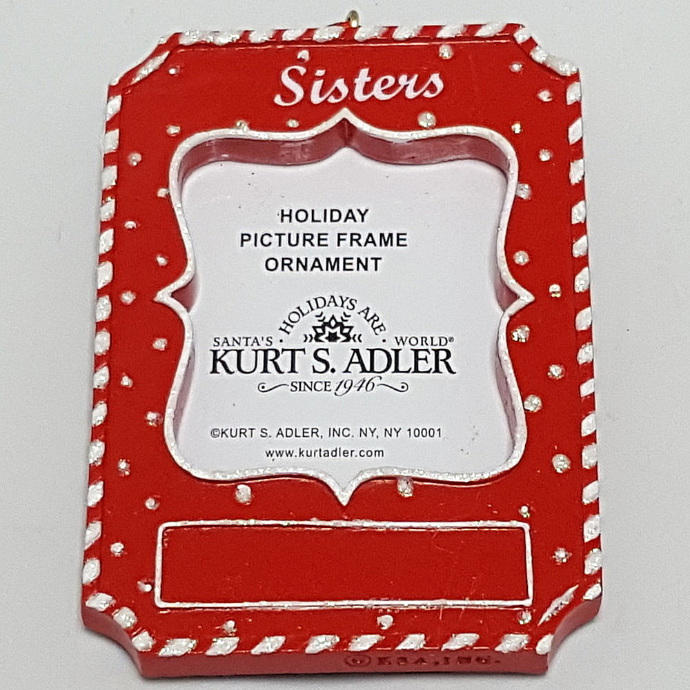 Sisiters Frame Ornament