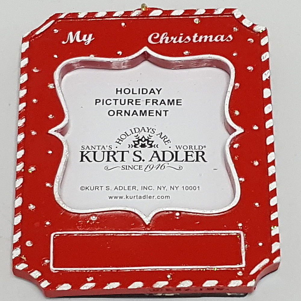 My Christmas Frame Ornament