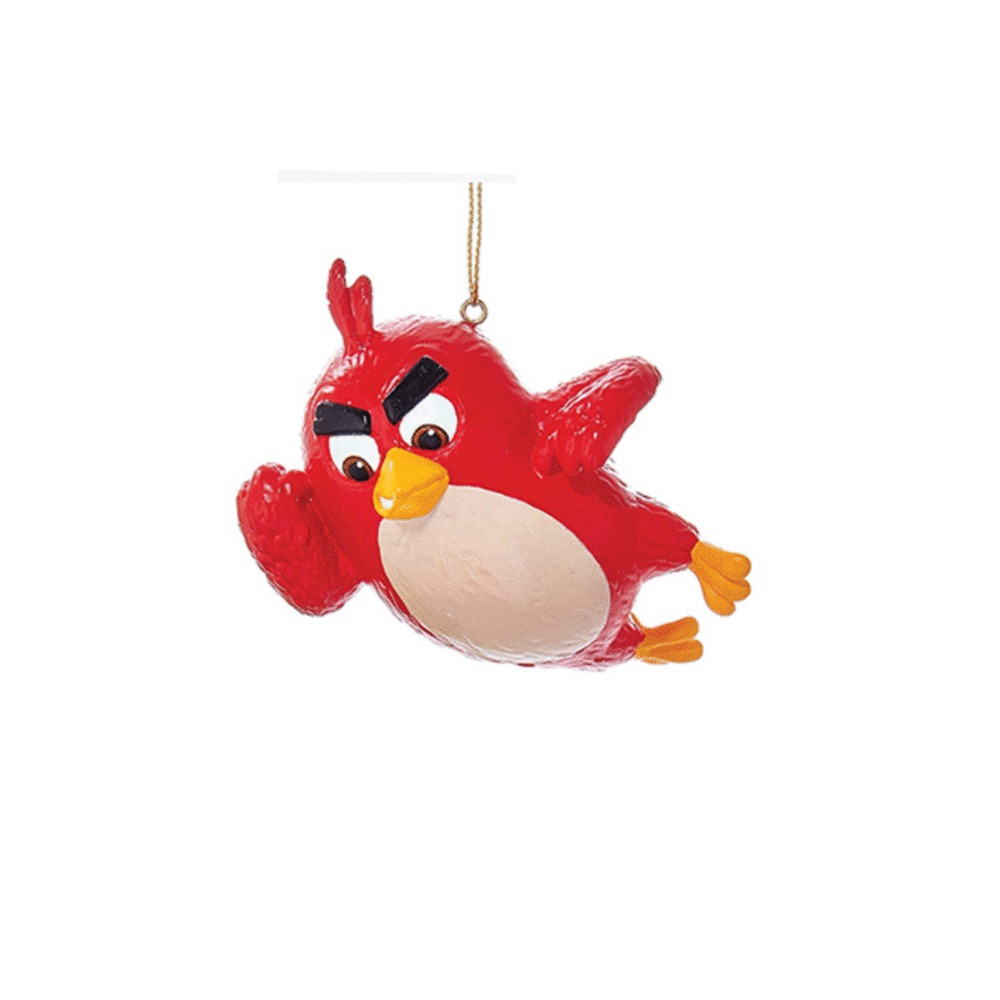 Angry Birds Red Bird Ornament