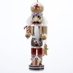 Gingerbread Nutcracker Ornament