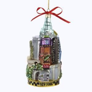 New York Glass Cityscape