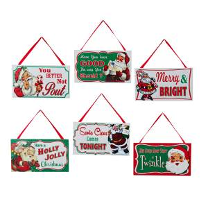 Wooden Christmas Signs