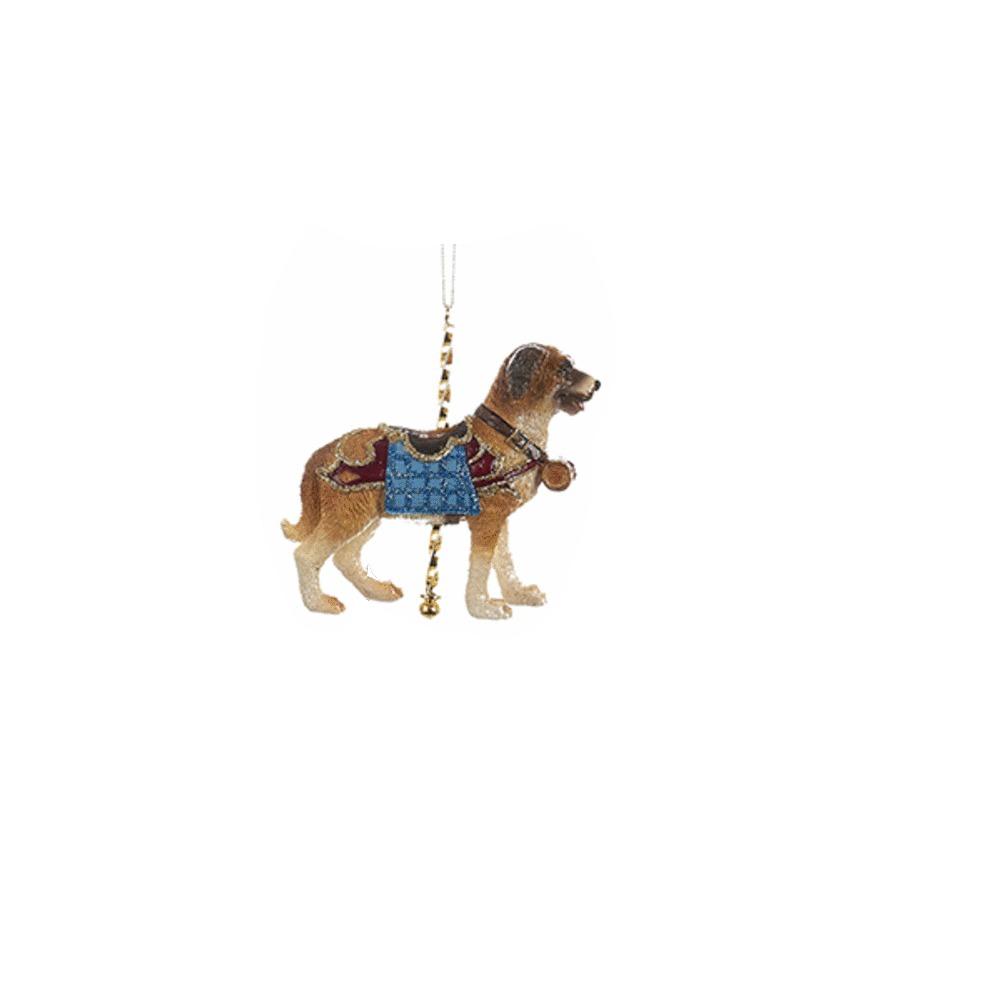Dog Carousel Ornament