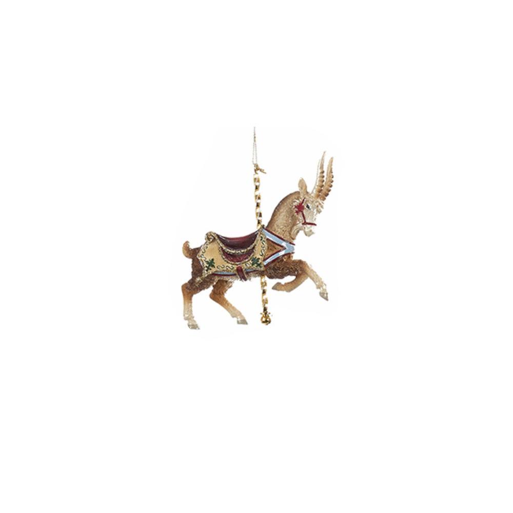 Goat Carousel Ornament