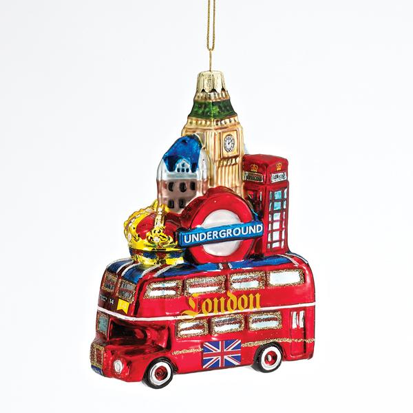 London City Glass Ornament