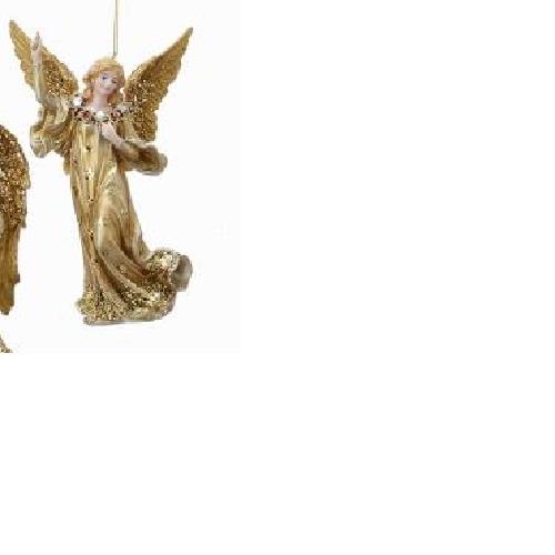 Vintage Cranberry Angel
