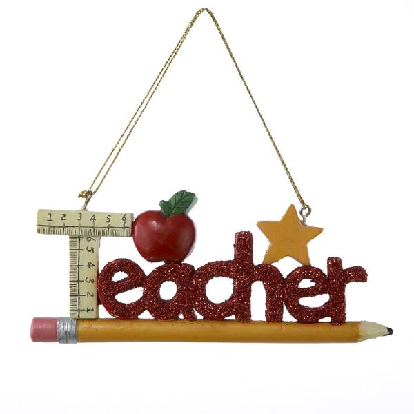 Teacher orn