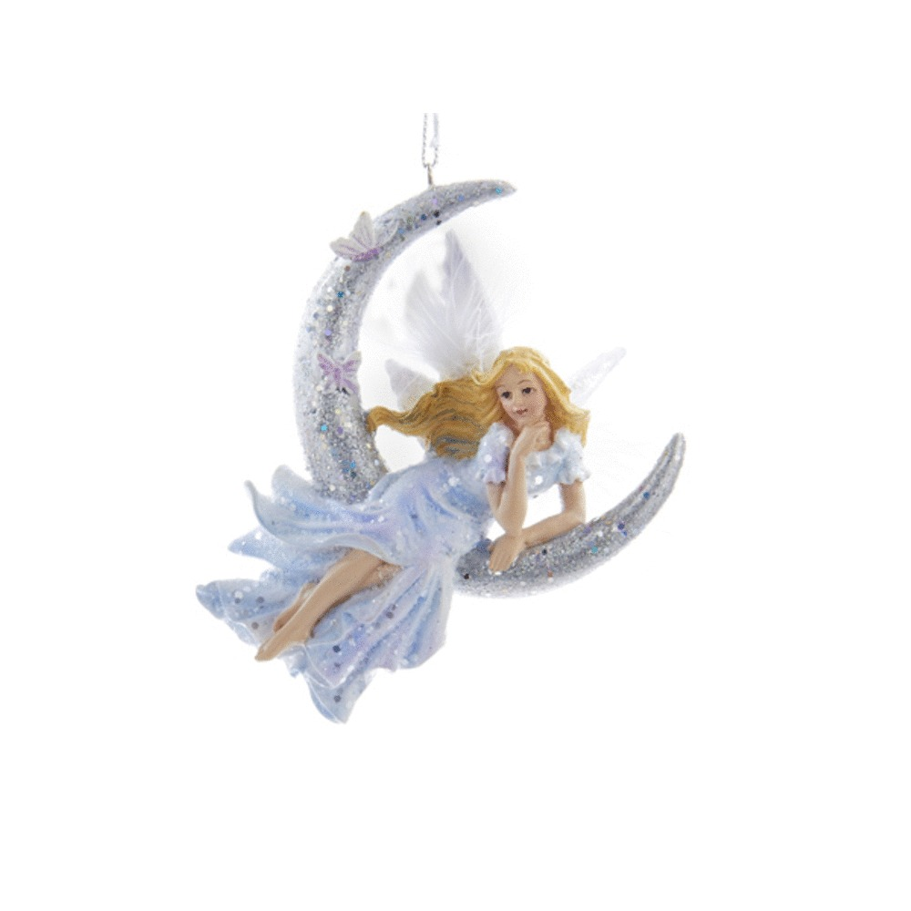 Frost King Fairy Sitting Ornament