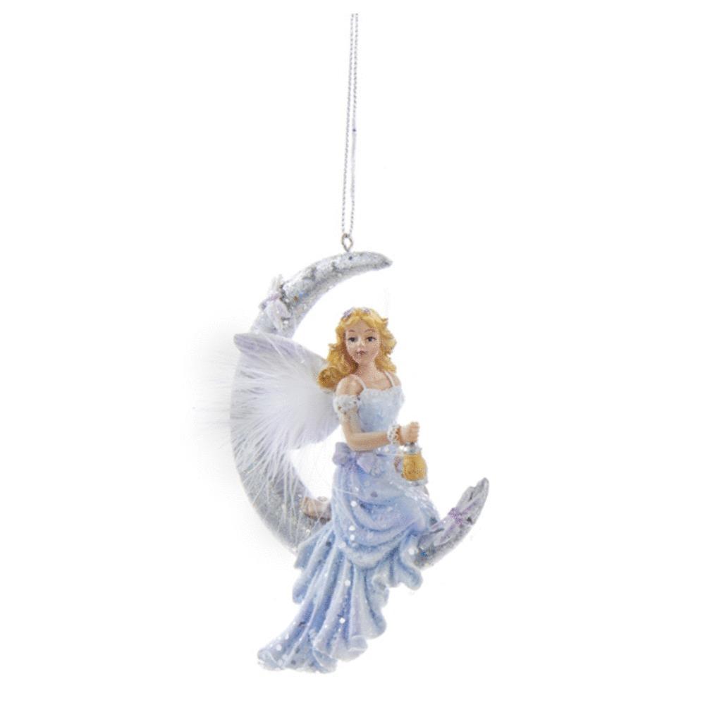 Frost King Fairy Kneeling Ornament