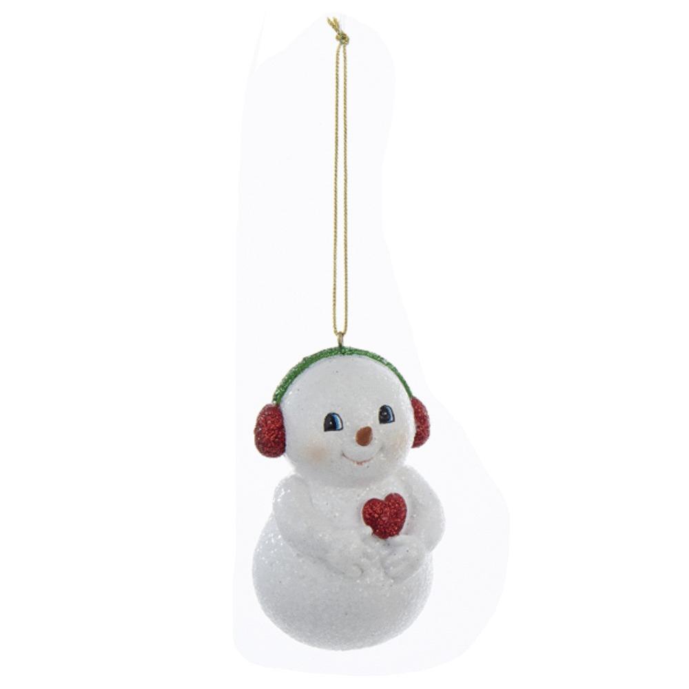 Snowman With Earmuffs