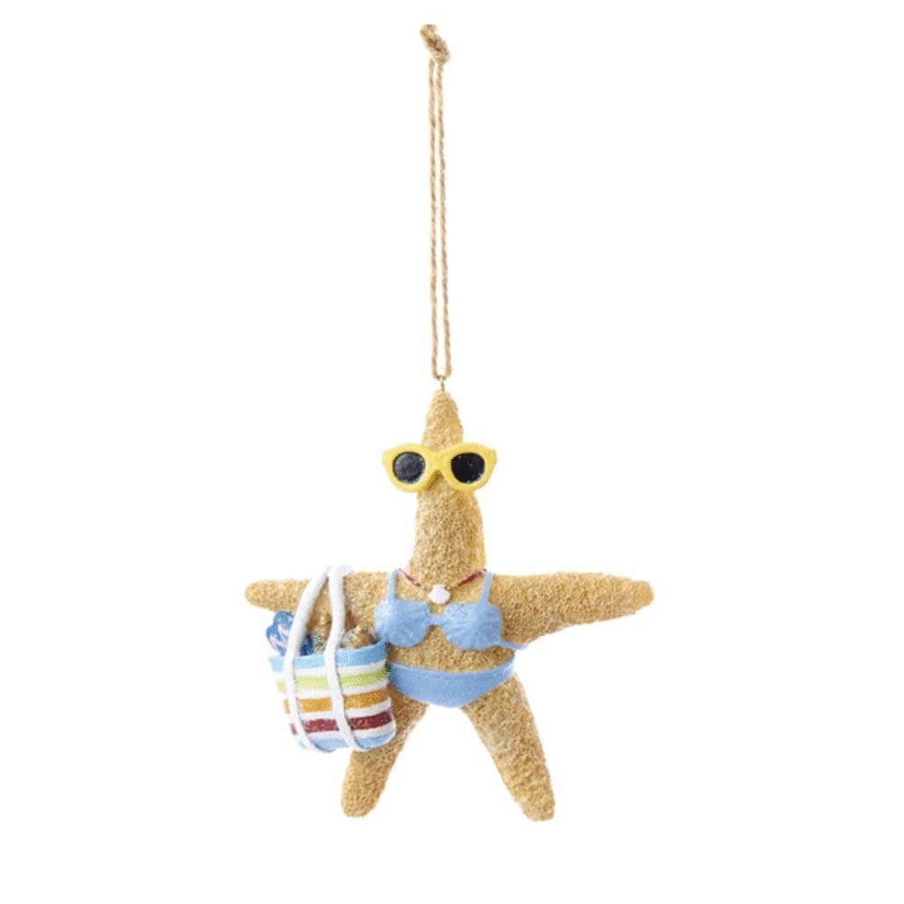 Starfish Blue Ornament